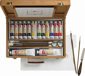 Save On Discount Utrecht Artists' Deluxe Wood Box & Easel
