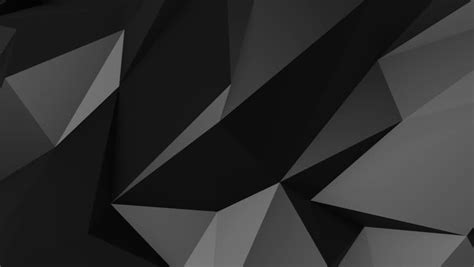 Abstract Shapes Black by Abstract Triangles Geometric Black And White Background