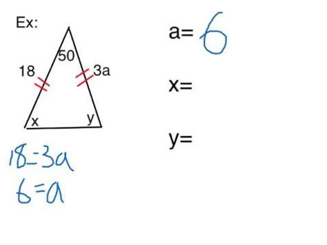 46 Isosceles And Equilateral Triangles Youtube