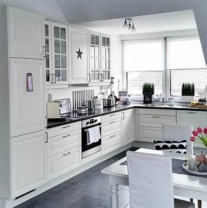 Ikea De Küche : ikea kueche schwarz weiss ideen soluzione casa cucina pinterest k che schwarz ikea ~ Yasmunasinghe.com Haus und Dekorationen