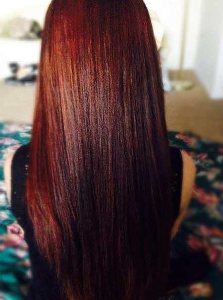 amazing burgundy chestnut hair color ideas hairstyles
