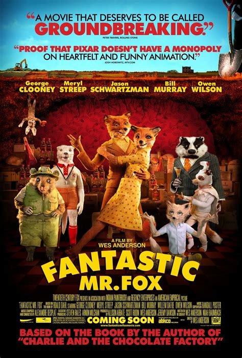 Resume Fantastic Mr Fox by Fantastic Mr Fox 2009 Imdbpro