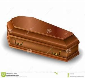 Wood Coffin Stock Photo - Image: 34571780