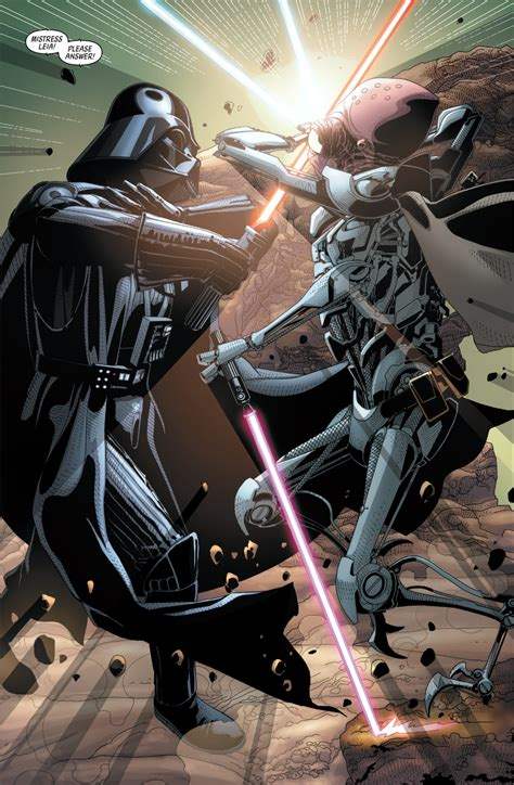 Darth Vader Vs Commander Karbin Comicnewbies