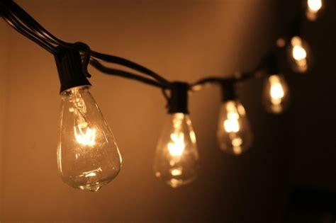 10 Socket Outdoor String Light Kit W St38 Bulbs (10ft