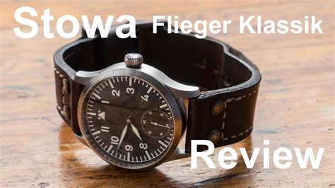 stowa flieger klassik review youtube