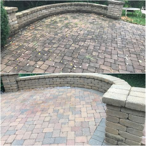 cincinnati patio paver cleaning sanding and sealing 859