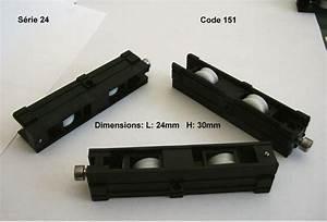 Roulettes Pour Portes Coulissantes : roulette de baie aluminium remplacement roulettes baie ~ Dallasstarsshop.com Idées de Décoration