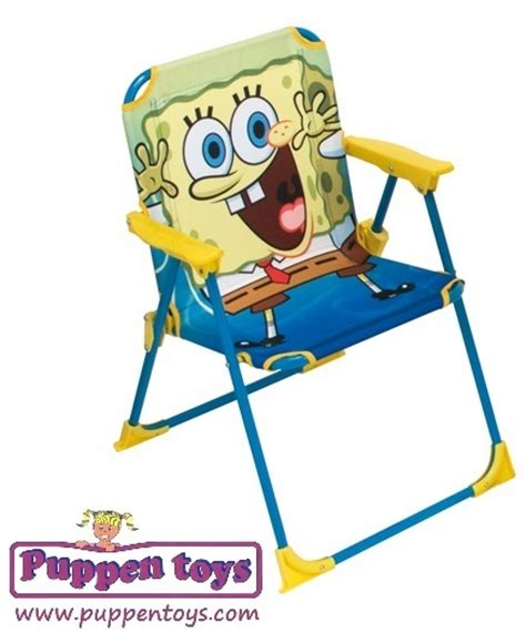 folding chair spongebob arditex juguetes puppen toys