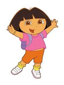 Transparent Dora the Explorer