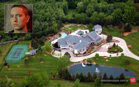 eminem casa 187 homes and mansions before and after photos