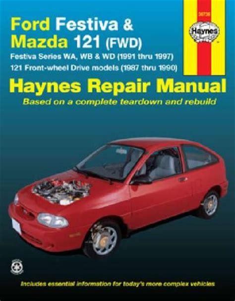 mazda  ford festiva   haynes service repair