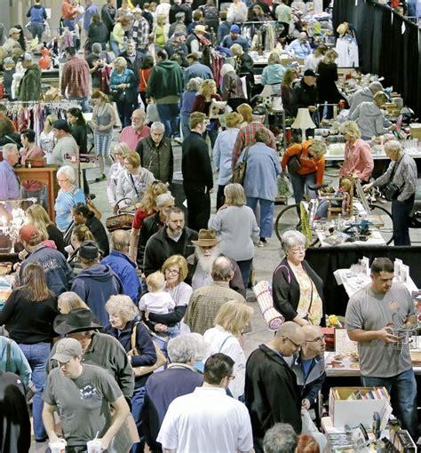 garage sales tulsa tulsa world garage brings 235 plus booths to expo