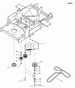 Simplicity 5900662   50 U0026quot  Mower  Zt3000b2450  Parts Diagram For Pump Drive Group