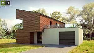 Domy s pultovou střechou