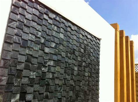 slate water wall rogerstone gardens garden design