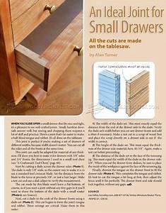 Drawer Joints • WoodArchivist