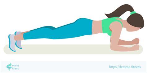 Planche Abdominale · Femme Fitness