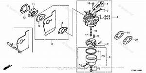 Honda Small Engine Parts Gsv190 Oem Parts Diagram For