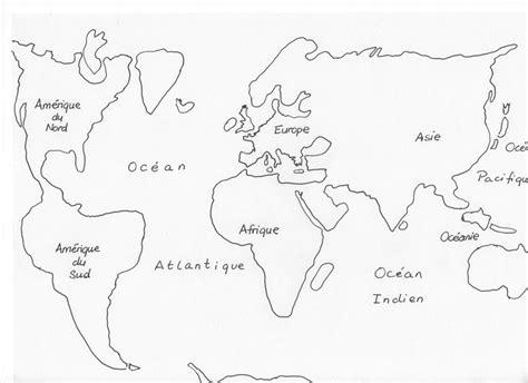 Peinture Chambre à Coucher - carte du monde a dessiner my