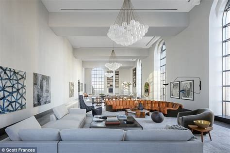 is livingroom one word lavish manhattan apartment with the largest living room in
