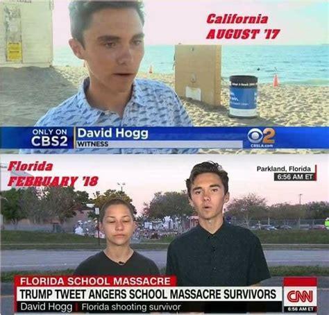 David Hogg Memes - david hogg conspiracy theory image marjory stoneman douglas high school shooting know your meme