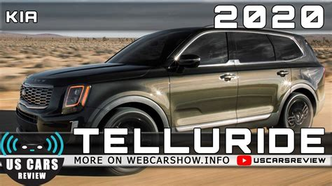 Kia Telluride 2020 Specs by 2020 Kia Telluride Review Release Date Specs Prices