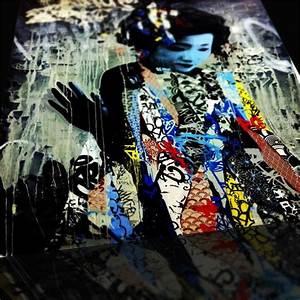 Geisha, Girl, Reinterpreted, Through, Modern, Art