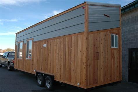 tiny house rv  shed style roof  tiny idahomes
