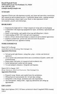 electrician resume samples sample resumes electrical
