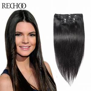 Clip In Hair Extensions 70g To 220g Human Hair Extensions