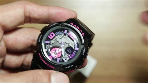 Casio Baby-g Bga-190-1b *new Analog Model