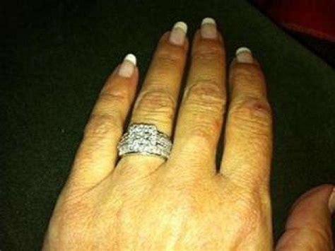 kay jewelers  white gold  diamond  piece engagement
