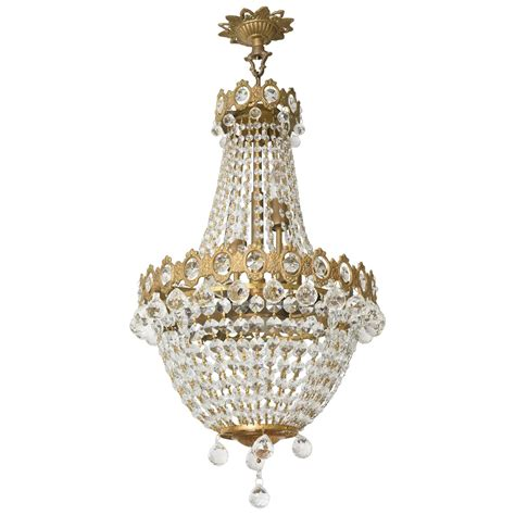 brass and crystal ls hollywood regency louis xvi style chandelier in antique