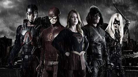Is A New Justice League The Next Step For Cw?  New Media