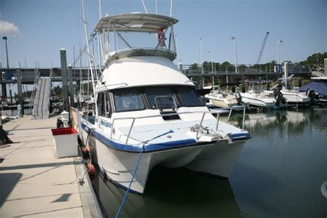 Fly Fishing Boats For Sale Uk by 1995 Kevlacat 3500 Flybridge Power New And Used Boats For