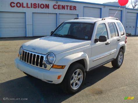jeep white liberty 2006 stone white jeep liberty limited 44088803 gtcarlot