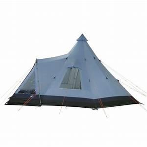 Zelt Mit Tunnel : 10t apache 500 10 personen tipi pyramiden zelt mit ~ Jslefanu.com Haus und Dekorationen