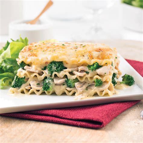 cuisine lasagne lasagne au poulet et brocoli recettes cuisine et