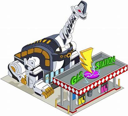 Guy Stuff Quest Gas Station Zord Giant