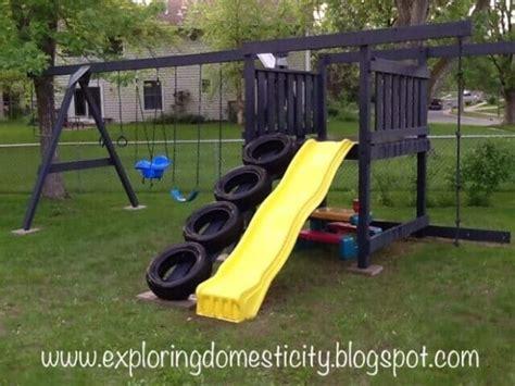 Swing Set Rope Ladder Stlfamilylife