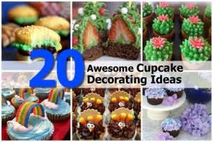 20 awesome cupcake decorating ideas