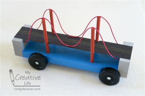 Need Ideas On Designs For Your Pinewood Derby Car Kinda Golden Gate Bridge Pinewood Derby Car Family Crafts