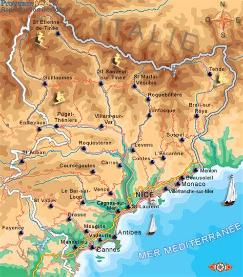 cours de cuisine alpes maritimes carte des alpes maritimes provence web