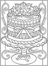 Coloring Pages Dessert Getcoloringpages Credit Larger sketch template
