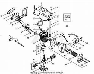 Mcculloch Chainsaw Fuel Line Diagram