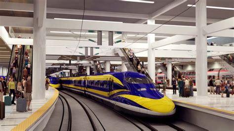 california breaks ground on the high speed railway