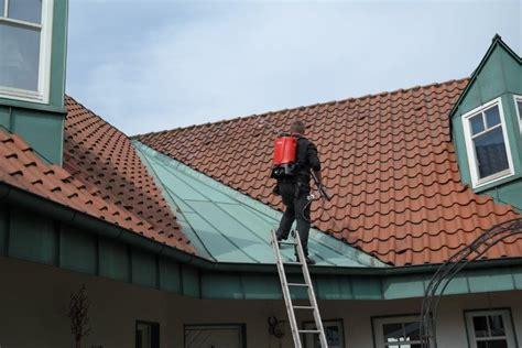 moos dach entfernen kupfer moos auf dem dach moos vom dach entfernen wirkungsvolle