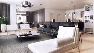 mobilier et deco en couleurs chaudes et froides dans deux With tapis kilim avec canapé meridienne gris