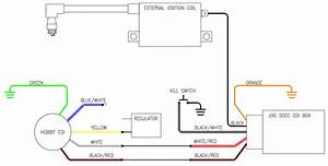 Stock Hobbit Cdi W   Jog Box Wiring Diagram  U2014 Moped Army